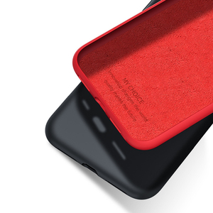 Image 4 - Solide Silikon Telefon Fall Für iPhone XR X XS Max 6 6S 7 8 Plus ich S iPhone7 iPhoneXR iPhone7 iPhoneX XsMax 7Plus 8 Plus Weiche Abdeckung