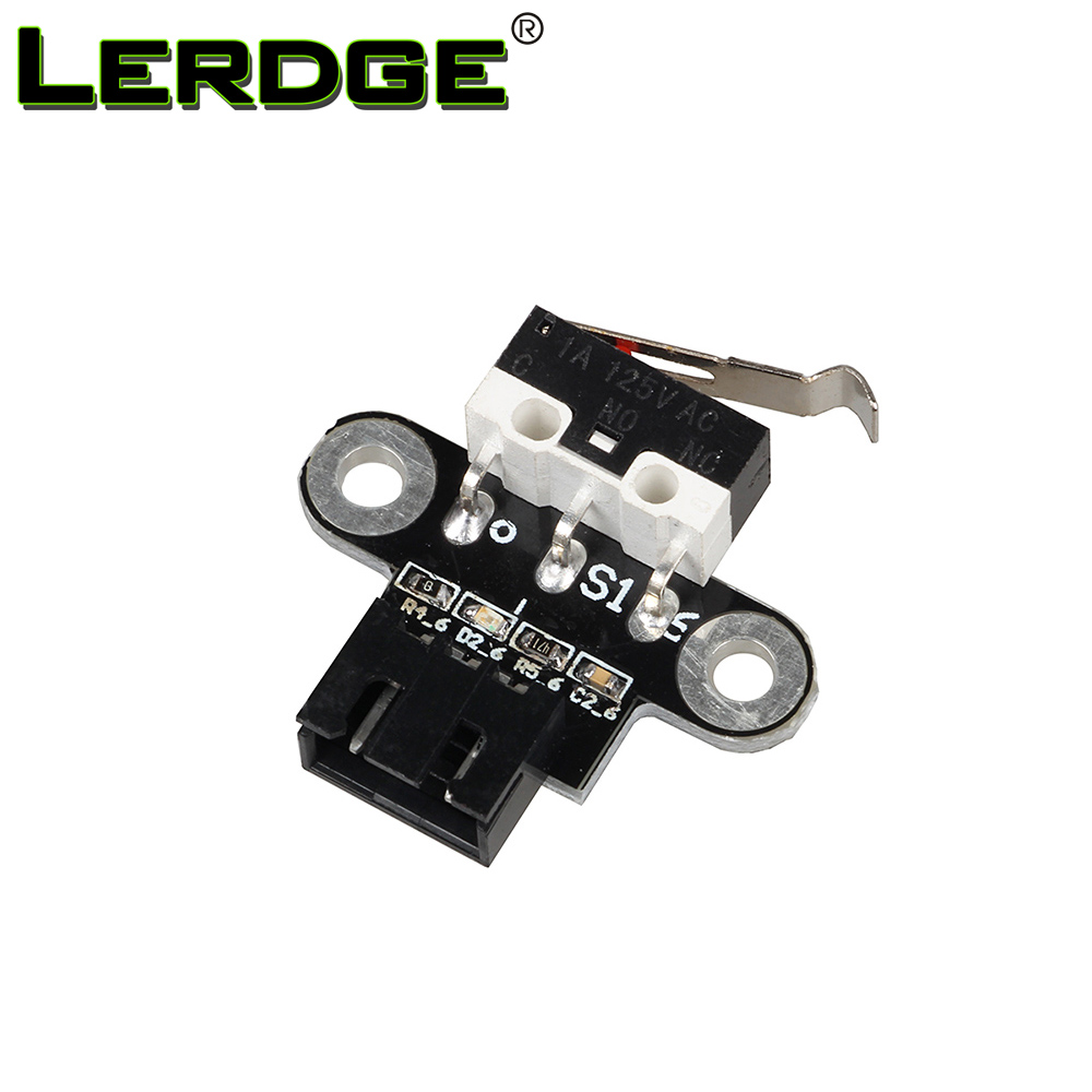 LERDGE 3D Printer Parts Mechanical Endstop Limit Switch Module Endstop Switch Horizontal Type For Reprap Ramps1.4 DIY freeshipping 5pcs lot endstop mechanical limit switches 3d printer switch for ramps 1 4