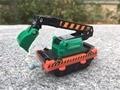 Tomy Chuggington originais 6 cm Escavadeira Carro de Brinquedo Trem New Solto