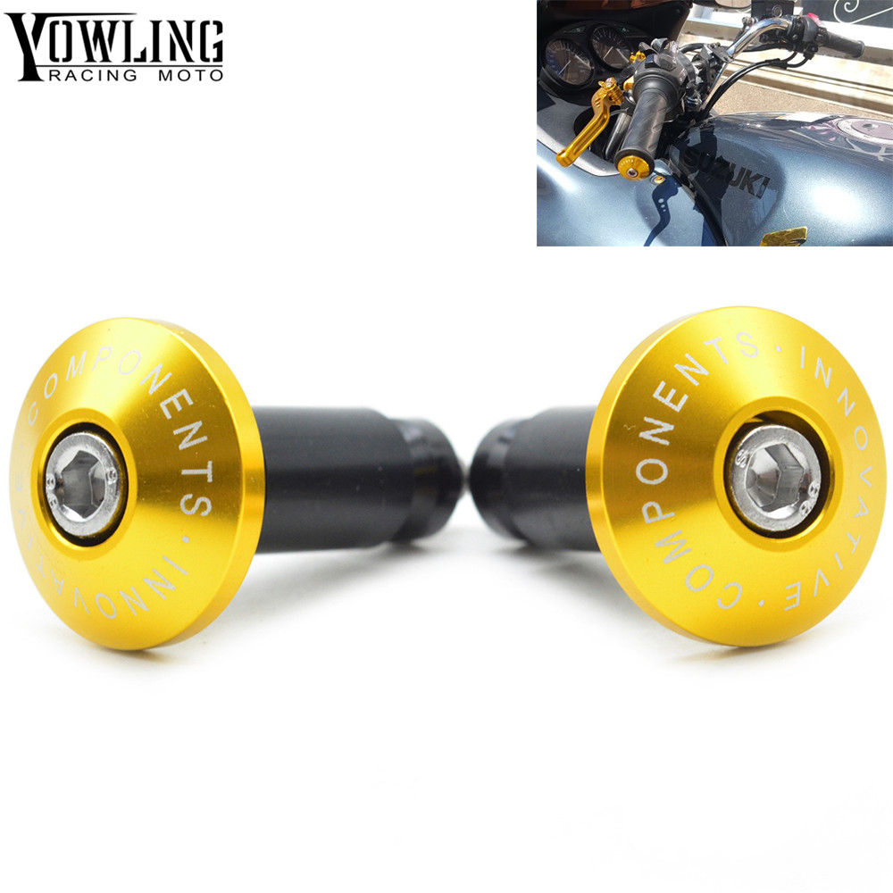 New Arrival Motorcycle CNC billet Handlebar Grips Bar Ends For <font><b>YAMAHA</b></font> JR FJR 1300 1200 <font><b>FZR</b></font> <font><b>1000</b></font> TMAX 530 500 TMAX530 TMAX500 image