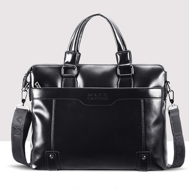 Hot sale! Fashion Design Men Leather Bag Handbag Briefcase Top Grade Men Shoulder Messenger Bag Laptop Bag Dress Business Bag
