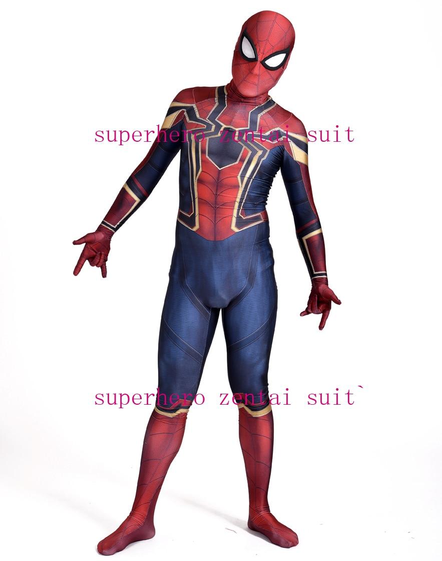 aliexpress com buy iron spider homecoming spiderman costume