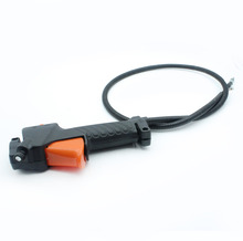 Handle Switch Throttle Trigger Cable For Strimmer Trimmer Brushcutter Brush Cutter