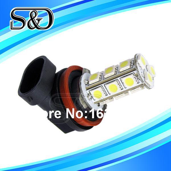 Automotive Car 1.2W 12V 6000K H11 18 SMD 5050 LED Headlight