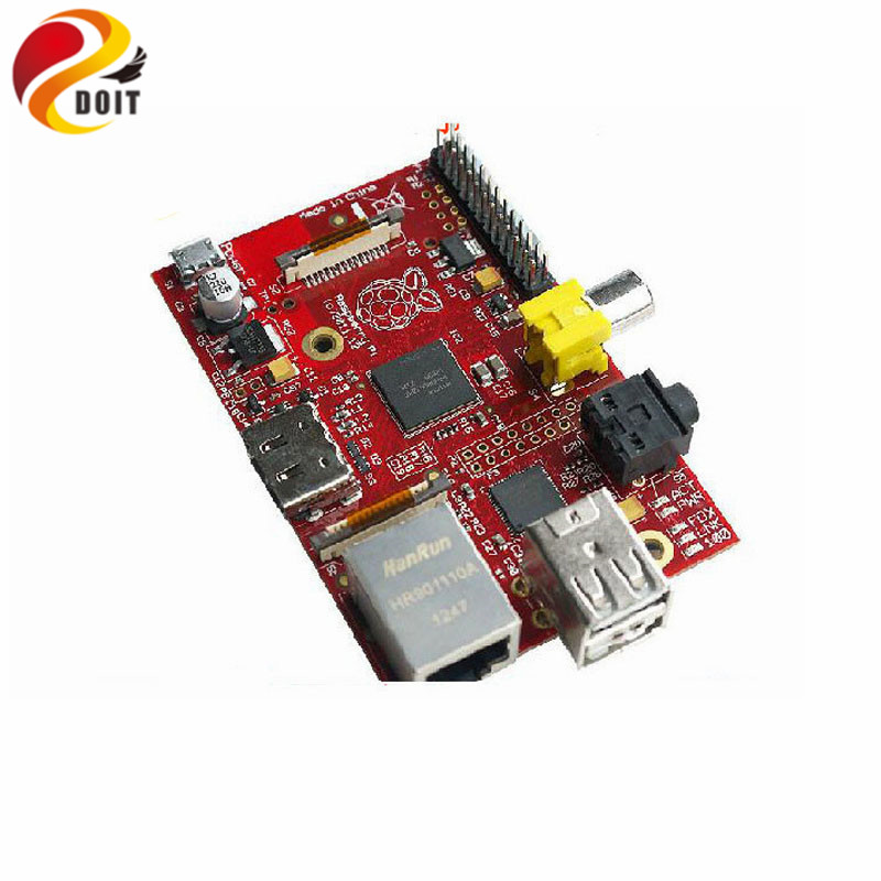 Official DOIT Raspberry B Pi Pie Development Board RPI Free Send Shell Box Power Pcduino Beaglebone Black BB RC Robot DIY
