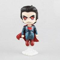 Marvel DC Süper Kahramanlar Superman Batman Nightwing Wonder Woman Kaptan Amerika Deadpool PVC Action Figure Koleksiyon Model Oyuncaklar