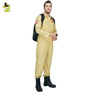 Image 3 - 男性の冒険コスプレ衣装カーニバルパーティのロールプレイ冒険ため冒険制服ジャンプスーツ衣装