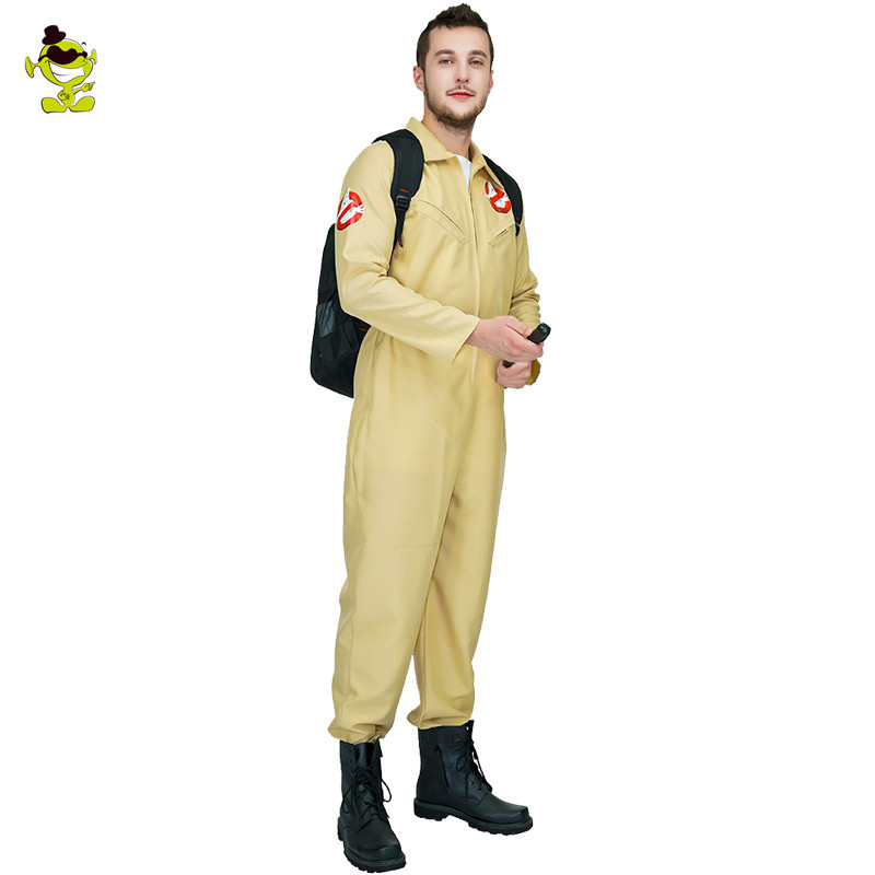 Image 3 - Men's Ghostbusters Cosplay Costume Ghostbusters Uniform Jumpsuits For  Carnival Party Role Play Ghostbuster Costumes-in Movie & TV costumes from Novelty & Special Use