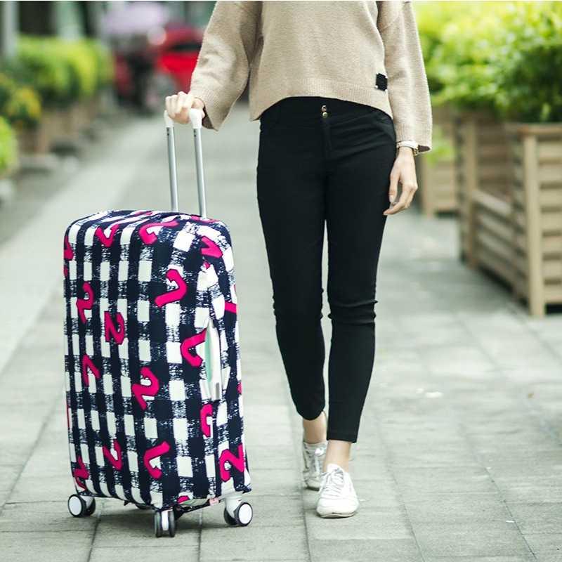 Новый дорожный Чехол для багажа, защитный чехол для чемодана, чехол для тележки, чехол для багажника, подходит для 18-30 дюймов
