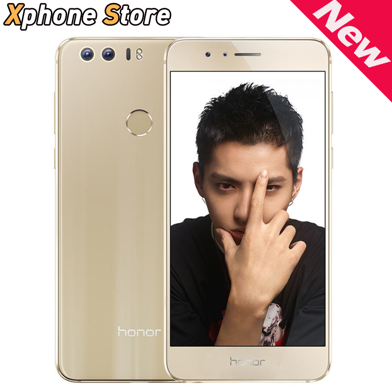 Original Huawei Honor 8 FRD-AL00 4GB RAM 64GB/32GB ROM Android 6.0 4G LTE Smartphone 5.2 inch Octa Core Support 3 Camera NFC OTG