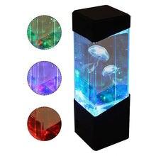 Светодиодный настольный светильник с Медузой для аквариума светодиодный