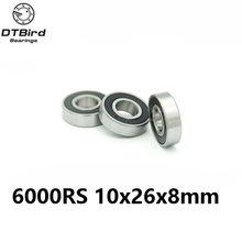 6000-2RS 10x26x8mm Hybrid Keramik rillenkugellager 6000 2RS 6000RS 10*26 * 8mm für fahrrad teil fahrrad Lager