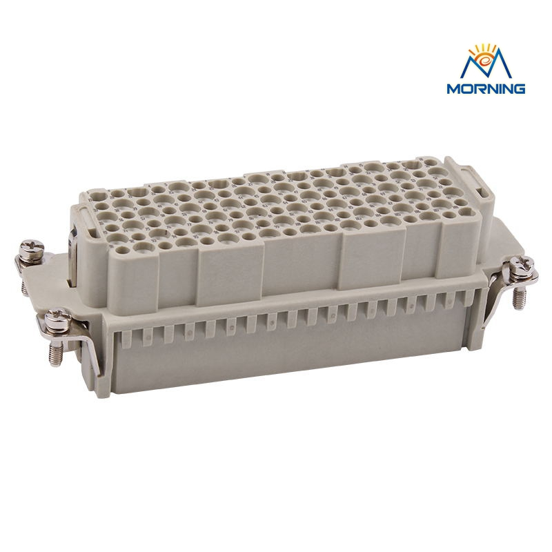 HDD-108 10A 250V Heavy Duty Connector FemaleMale Crimp Terminal Copper Alloy Material Industrial 108 Pins Current 24 pin 16a terminal block power crimp plug heavy duty connectors for spinning and packing machine mk he 024 4d