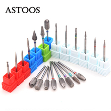 Carbide Nail Drill Bits Ceramic Milling Cutters For Manicure Machine Milling Cutters For Pedicure Milling Cutter for Nail Drill