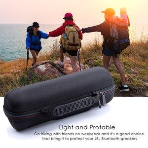 Image 4 - Taşınabilir Koruyucu Seyahat Taşıma EVA Depolama Sert Çanta Case anti şok Kapak Kılıfı için JBL Flip 3/Flip 4 hoparlör Aksesuarları