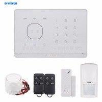 DIYSECUR GSM RFID Système D'alarme avec Écran Tactile et SMS/RIFD APP contrôle! meilleur Système D'alarme Maison Intelligente