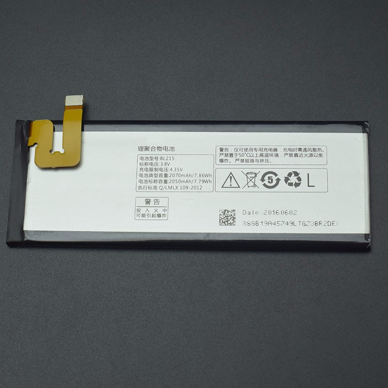 MATCHEASY For <font><b>Lenovo</b></font> VIBE X <font><b>Battery</b></font> 2070Mah BL215 <font><b>Battery</b></font> Replacement For <font><b>Lenovo</b></font> VIBE X <font><b>S960</b></font> S968T Mobile Phone+In Stock image