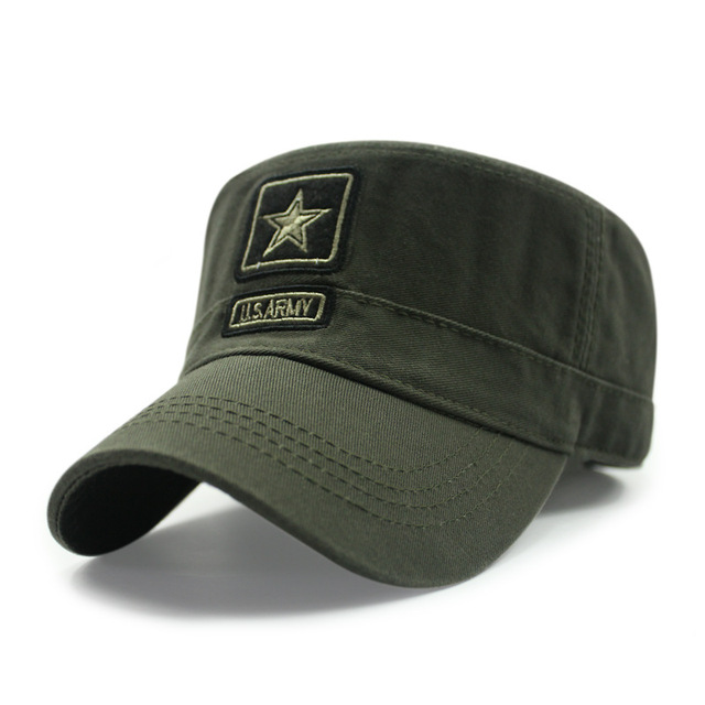 ad97239affc Kagenmo New Style Cotton Spring And Summer Camouflage Army Hat Fashion Flat  Top Military Hats Male Female Baseball Cap
