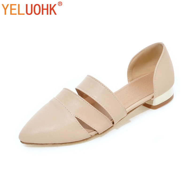 33-43 Flat Shoes Women Loafers Soft Leather Moccasins Women Shoes Flats Comfortable Spring Autumn Shoes Pointed Toe Slip On spring and autumn new 2015 women shoes serpentine surface women flat slip on higher fashion bost shoes comfortable loafers