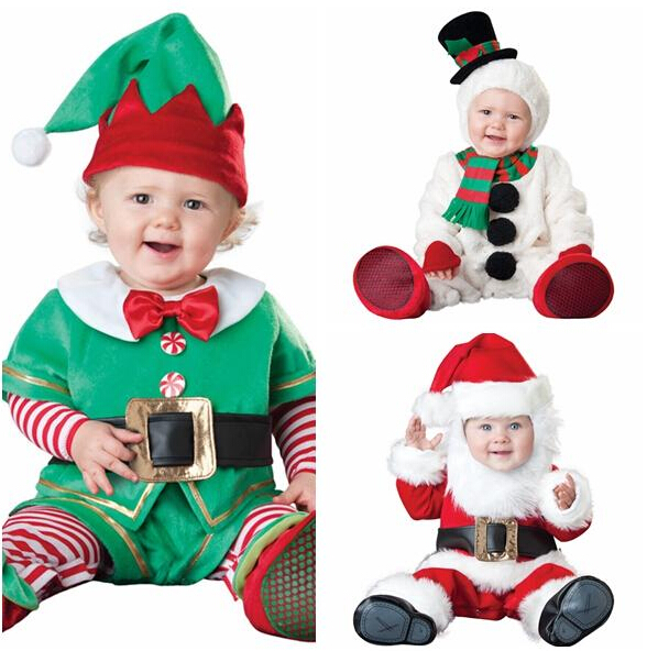Unisex Baby Christmas Rompers Suit Santa Claus Elf Costume Kids Clothing Set Toddler Animal Cosplay Jumpsuits Roupa Infantil-in Rompers From Mother \u0026 ...  sc 1 st  Germanpascual.Com & Santa Claus And Elf Costumes u0026 African American Black Thug Gangster ...
