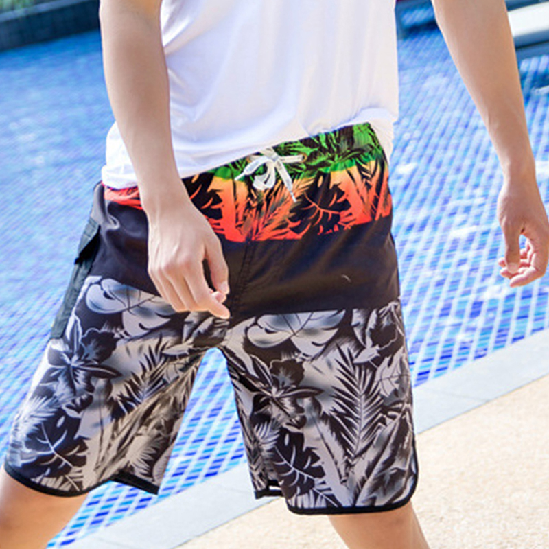 New Mens Swimwear Swim Beach   Shorts   Trunks   Board     Shorts   Swimming   Short   Pants Swimsuits Mens Running Sports Surffing   Shorts   Male