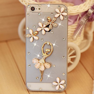 New 2014 bling diamond rhinestone crystal Hard Back Cover Skin Case cover For apple iphone 4 4s case