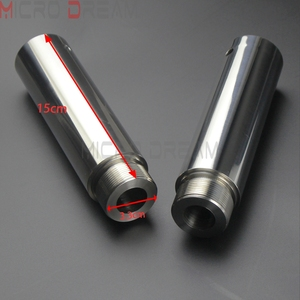 Image 1 - 1 Chrome Xe Máy Dĩa Ống Risers 5 Inch Nối Dài Cho Harley Dyna Glide FXD Sportster XL1200 XL883 39 Mm dĩa Ống