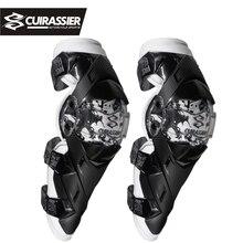 Kneepad motocykla odzieży Ochronnej Autentyczne Motocross Wyścigi Motocyklowe Knee Protector Straż KneePads Ochraniaczami Cuirassier K09