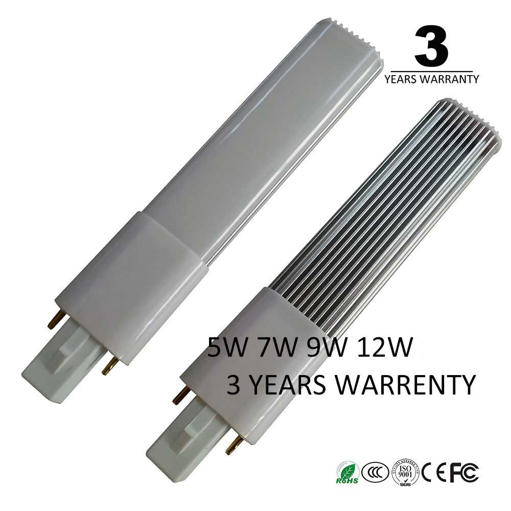 3 years warrenty 5w 7w 9w 12w 15w G23 led bulb light G23 led lamp pl