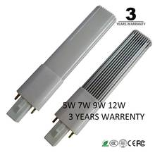 3 years warrenty 5w 7w 9w 12w 15w G23 led bulb light G23 led lamp pl light pl-s replacement