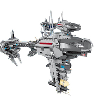 Lepin 05083 1736Pcs Star Series War MOC Series The Nebulon B Medical Frigate Set Building Blocks