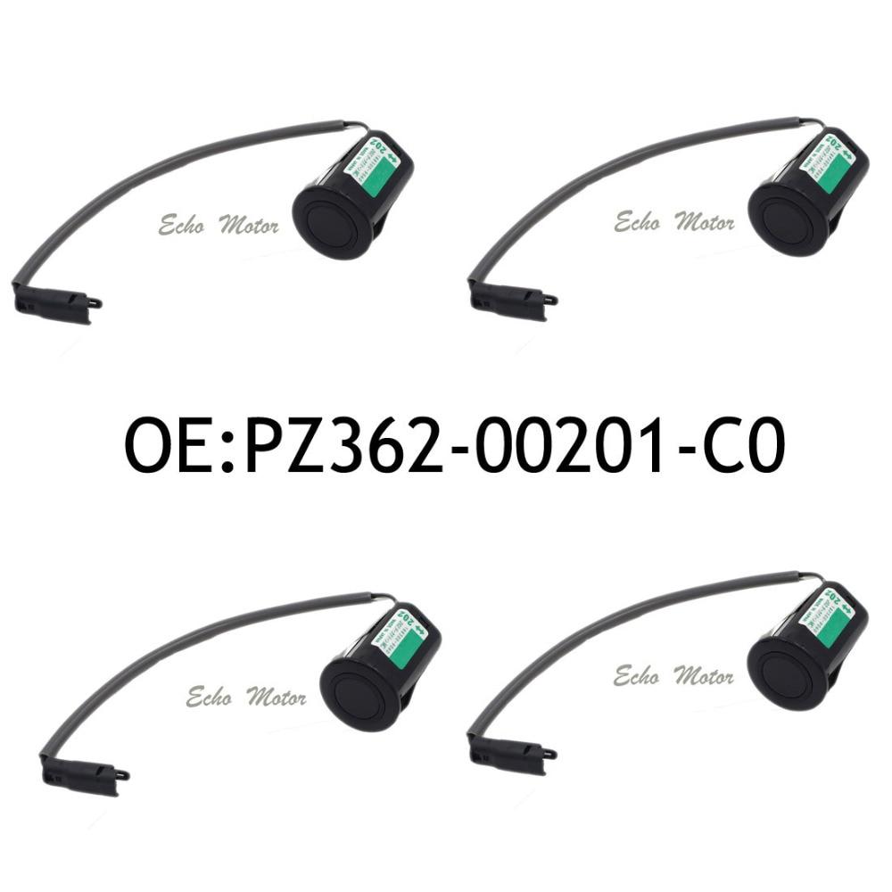 New 4pcs PZ362-00201-C0 For Toyota Ultrasonic Sensor  Camry /Lexus RX Reverse Sensor PZ362 00201 188300-9060 new set 4 89341 0c010 42342 parking ultrasonic sensor for toyota tundra 2014 2015 left right 0c010 42342