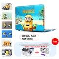 Популярные Миньоны солнце песок приятелей Чехол Для Apple macbook Air Pro Сетчатки 11 12 13 15 дюймов ноутбук сумка Для Mac book 11.6 13.3 15.4