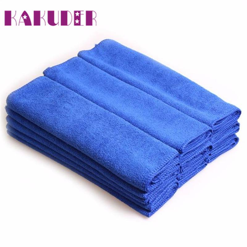 Car cleaning tools 5pcs 30*70cm Soft Microfiber Cleaning Towel Car Auto Wash Dry Clean Polish Cloth drop shipping