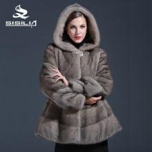 Color Coat Mink Women's