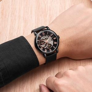 Image 3 - FORSINING Men Watch Top Luxury Brand Fashion Sports Mechanical Watches Mens Business Waterproof Wristwatch Relogio Masculino
