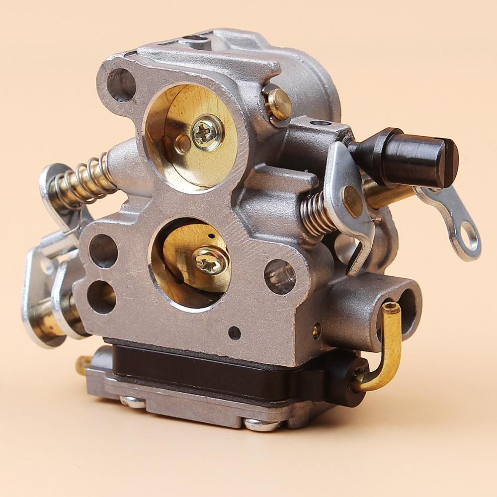 מערכות ניווט עבור קרבורטור הוסקוורנה 240 236 235 240E 236E 235E Jonsered CS2238 CS2234 GZ380 המנסרים זאמה C1T-W33C פחמימות # 574 71 94-02 (3)
