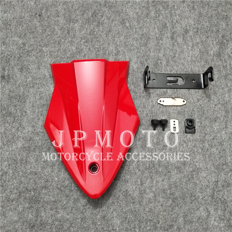 Motorcycle Rear Seat Cover Cowl Solo Racer Scooter Seat For BMW S1000RR S1000R 2015 2016 2017 2018 Red S 1000RR 1000R