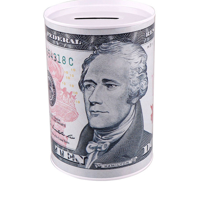 Tirelire Billet 10d