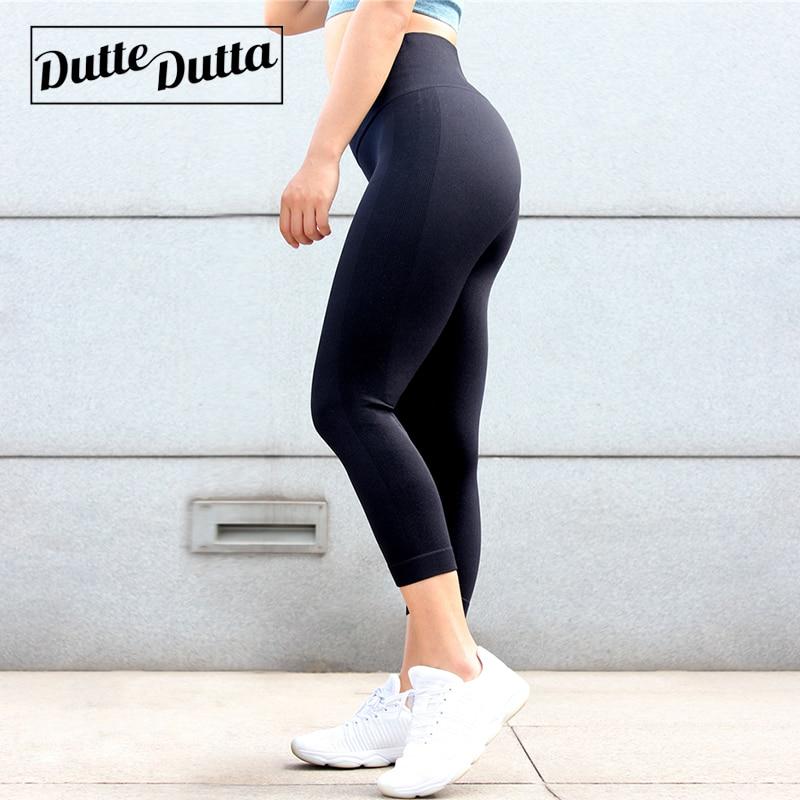 Tights Sportswear Woman Gym Yoga Pants Sports Wear Leggings For Fitness Leggins Sport Women High Waist Capris Women's Legging