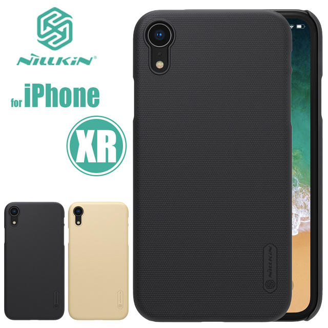 nillkin iphone xr  for iPhone XR Case Nillkin Super Frosted Shield for iPhoneXR Ultra ...