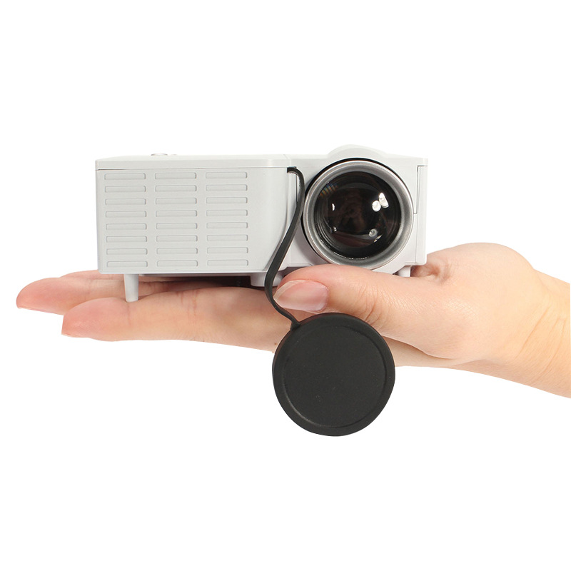 HATOSTEPED YG320 Home Mini HD 1080P LED Mini Portable Projector Projector Video HDMI USB Full Projetor TV Home Theater Beamer original xgimi z4 aurora 4k projector led 3d full hd projetor mini projector portable dlp projector home theater cinema beamer