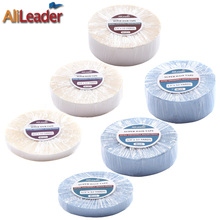 Super Waterproof Hair Adhesive Tape 3/6/12/36 Yards White/Blue Double Sided Hair Glue For Wigs/Tape In Hair Extension/Hairpieces