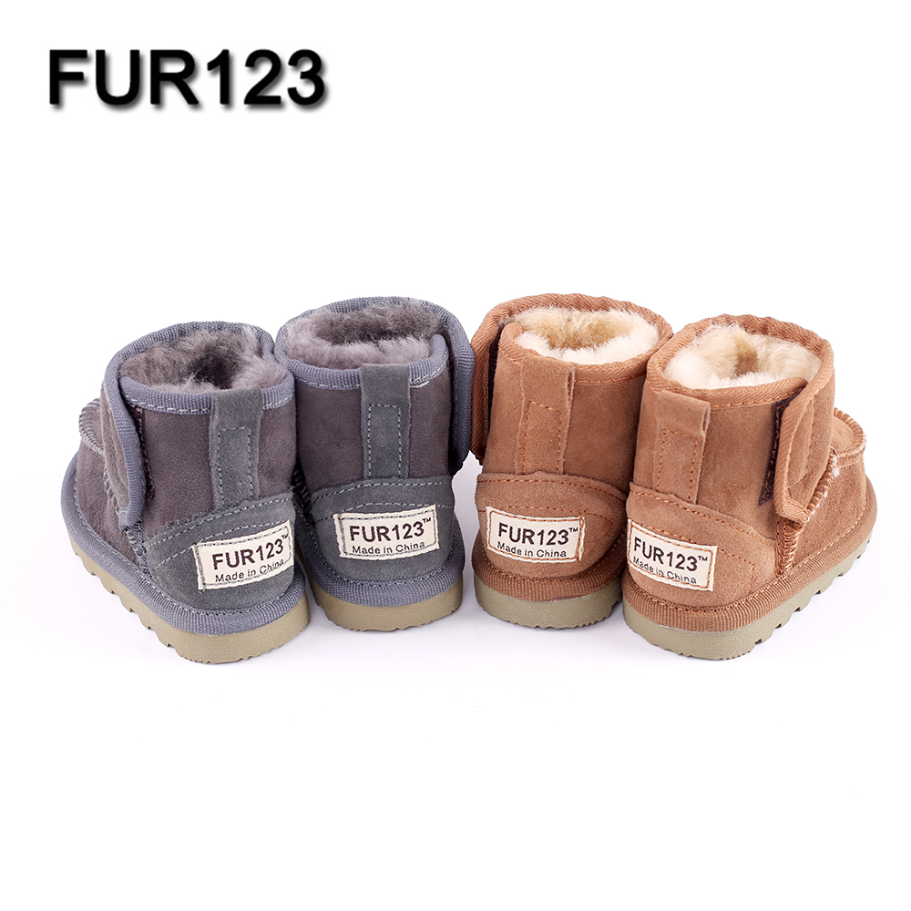Baby-Snow-Boots-for-boys-and-girls-Kids-Snow-Boots-Sheepskin-Real-Fur-Shoes-Children-Geanuine-Leather-Australia-Shoes-4