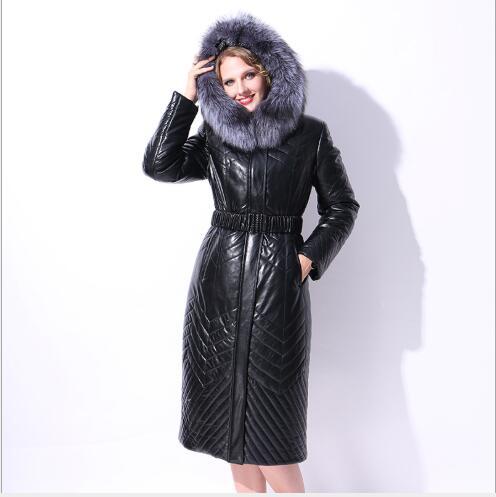 Manteau De Section Chameau 2018 Vers Fit Plus Slim Hiver Longue Le Épaississement Femme Nouveau Pardessus Veste Bas La Black Taille Grand Col Chaud Femmes Fourrure 8BtOwqB