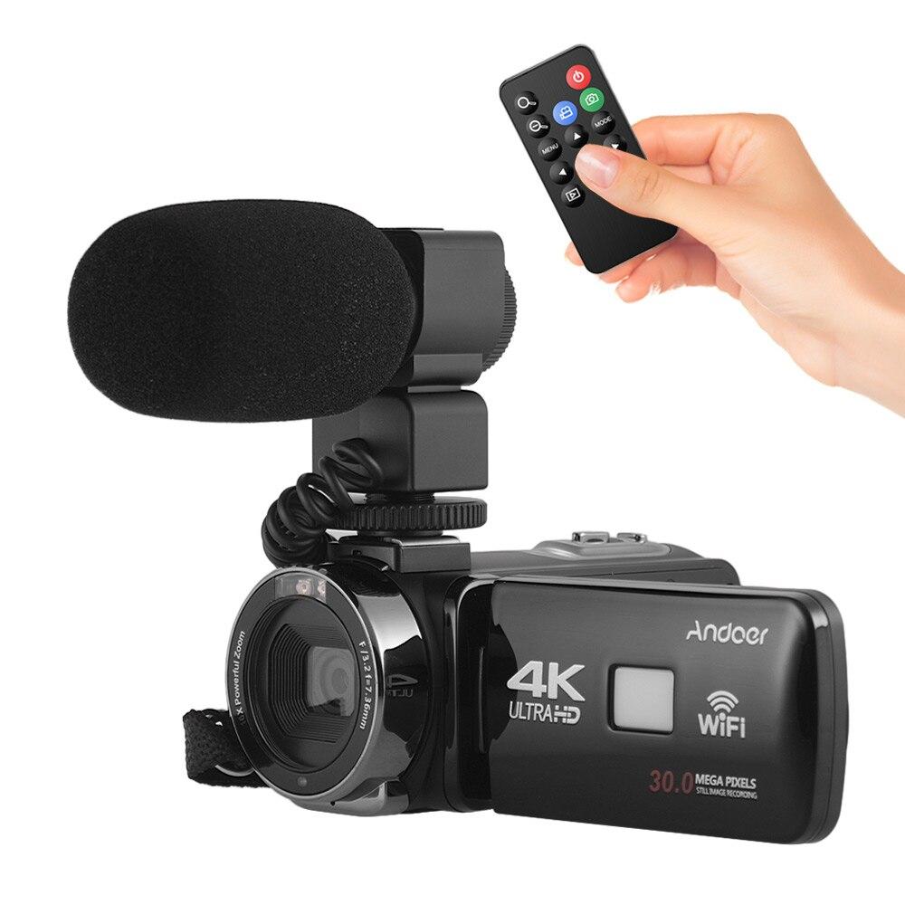 Andoer FHD 1080P Portable Digital Video Camera Camecorder Infrared Night Vision 3 0 Rotating LCD Screen