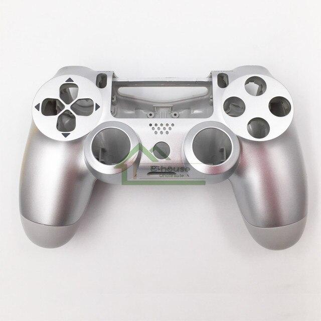 E-house douane 11 couleur en option pour PS4 JDM-011 contrôleur boîtier de couverture coque de remplacement pour Playstation 4 contrôleur