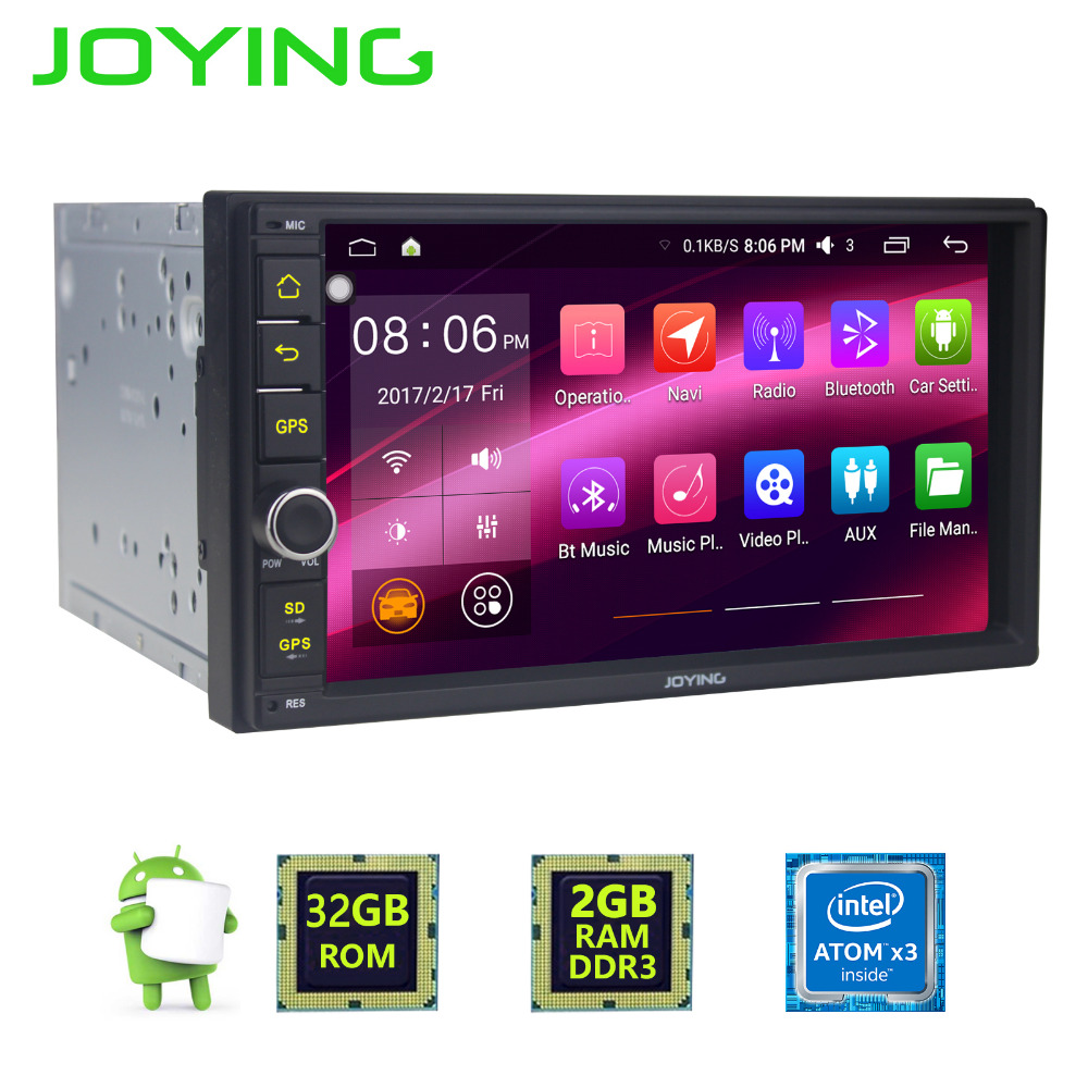 "Newest 7"" radio 2 Din Universal Auto Stereo Support 4G wifi DVR Camera Android 2G RAM Car physical button Head unit GPS Player"