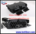 16 Ядра FTTH-Fiber Optic Box, Материал ABS Коробка, FTTH Распределительная Коробка, PLC Splitter Выбор