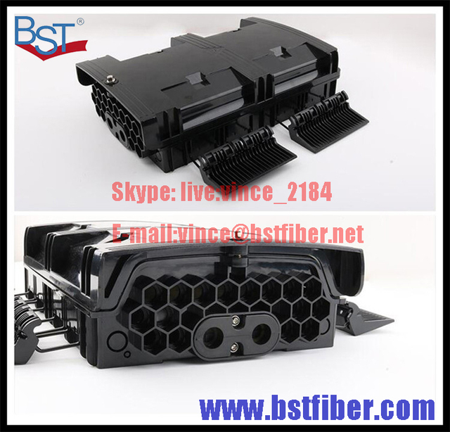 16 Cores Fiber Optic FTTH Box, ABS Material Box, FTTH Distribution Box, PLC Splitter Selection